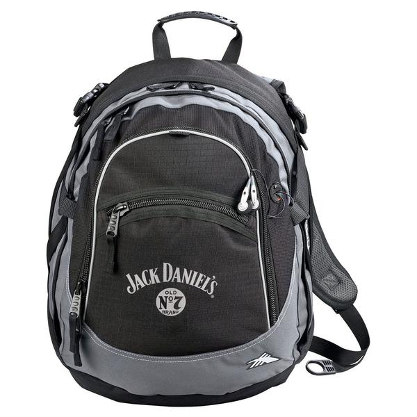 High Sierra Black Fat-Boy Backpack