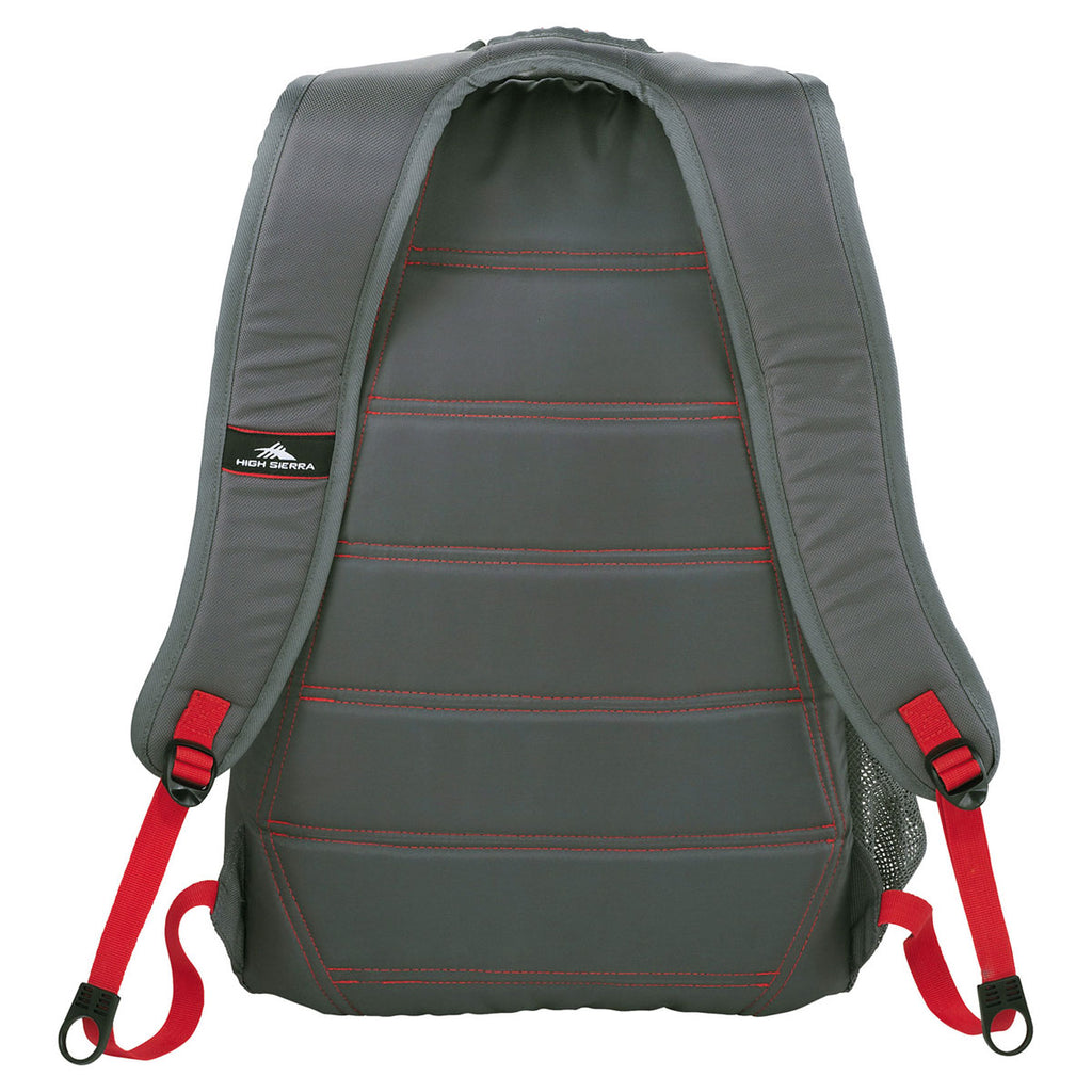 "High Sierra Grey Fallout 17"" Computer Backpack"
