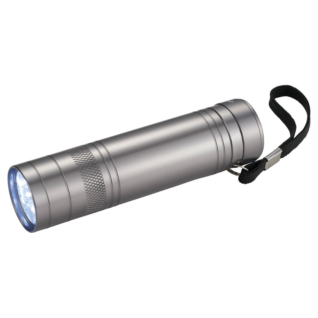 High Sierra Silver Bottle Opener Flashlight