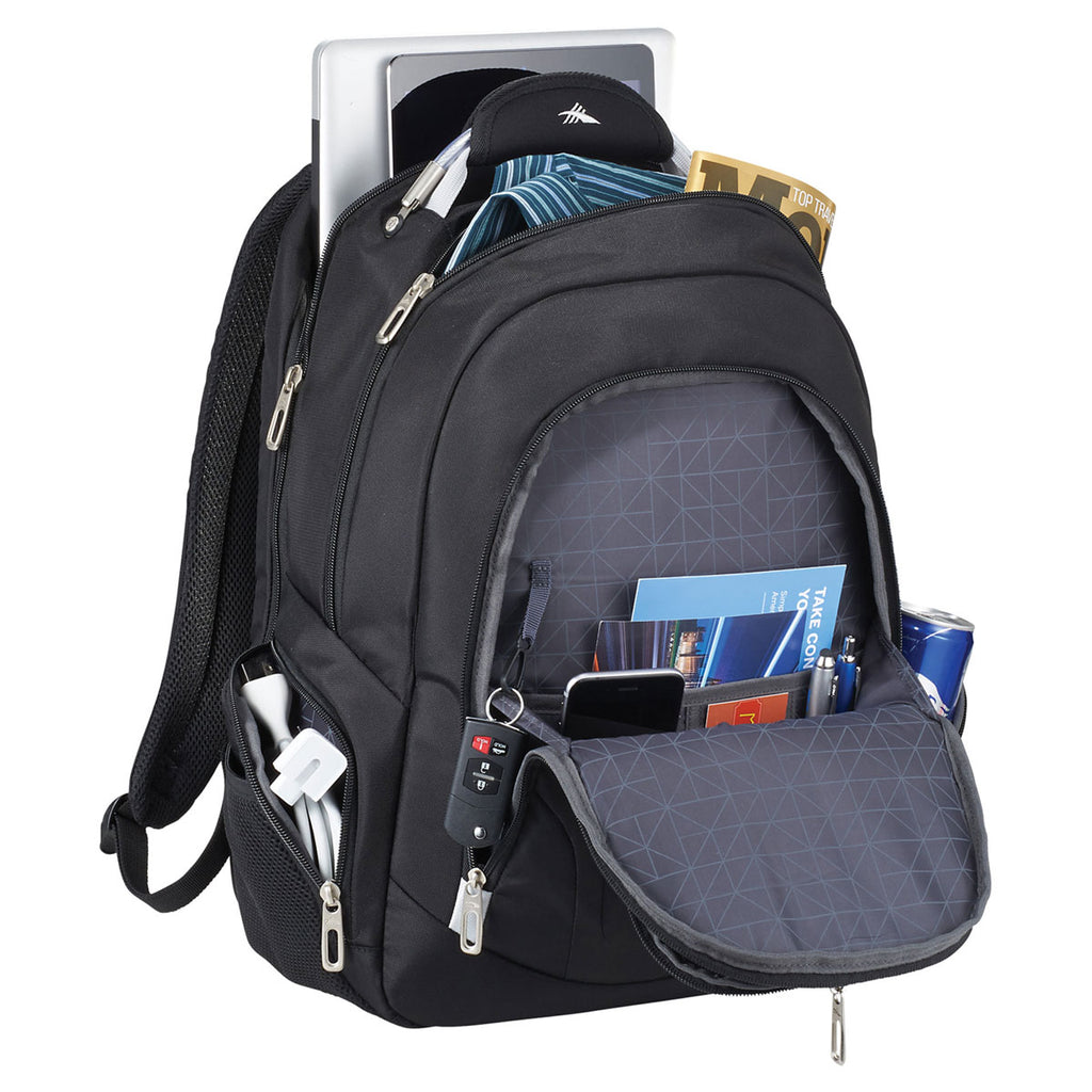 "High Sierra Black TSA 15"" Computer Backpack"