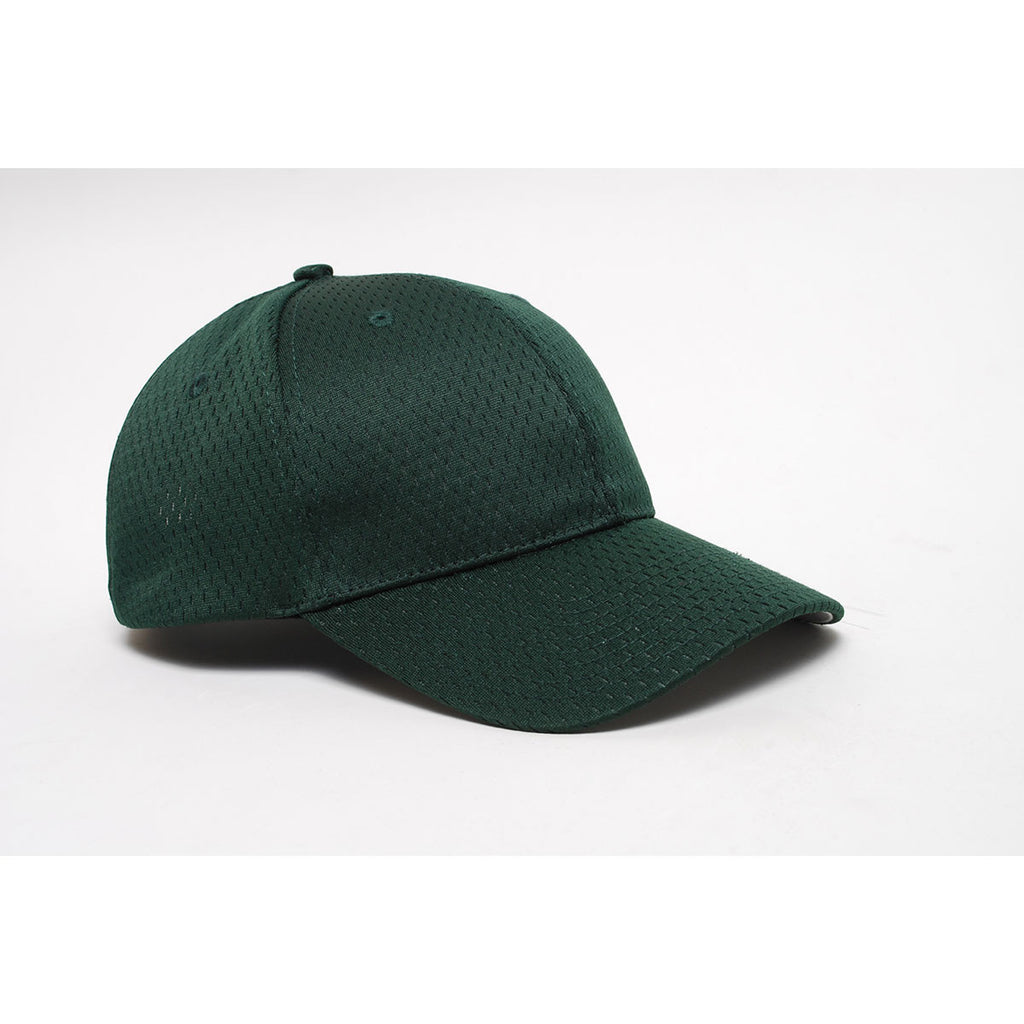 Pacific Headwear Dark GreenVelcro Adjustable Coolport Mesh Cap faeb63f0018