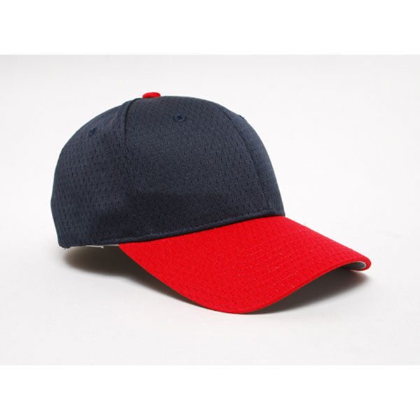 Pacific Headwear Navy Red Universal Fitted Coolport Mesh Cap 3cae2a7b768