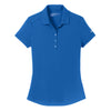 811807-nike-womens-blue-smooth-polo