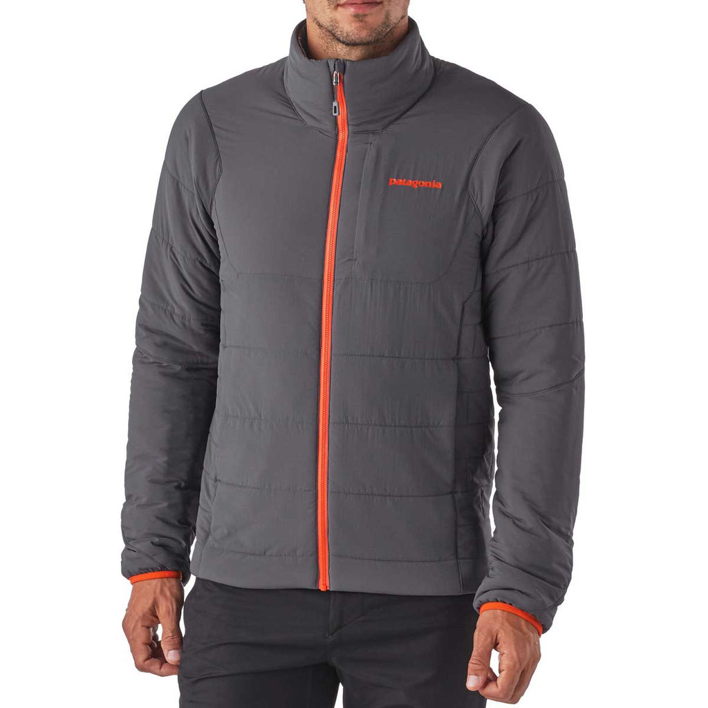 Patagonia Men's Forge Grey/Cusco Orange Nano-Air Jacket