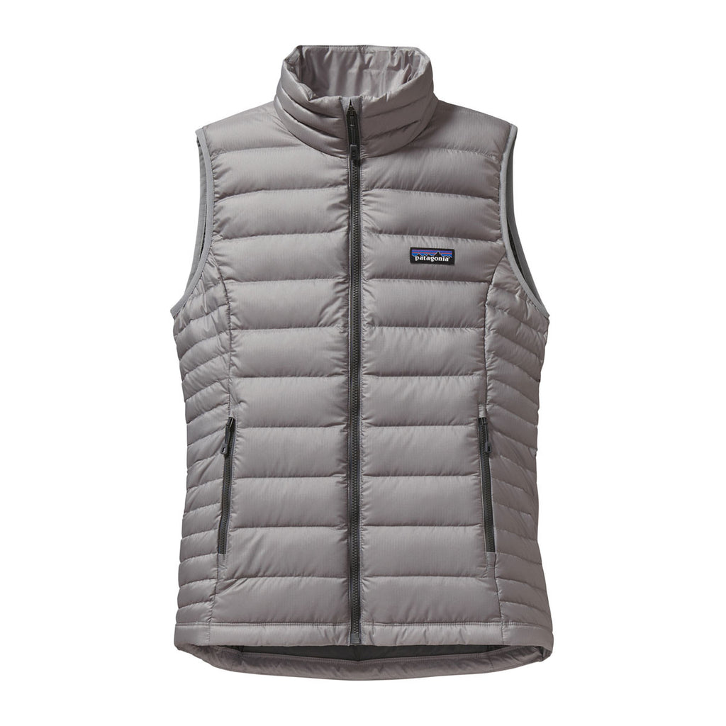 3de8f3cd1 Patagonia Women's Feather Grey Down Sweater Vest