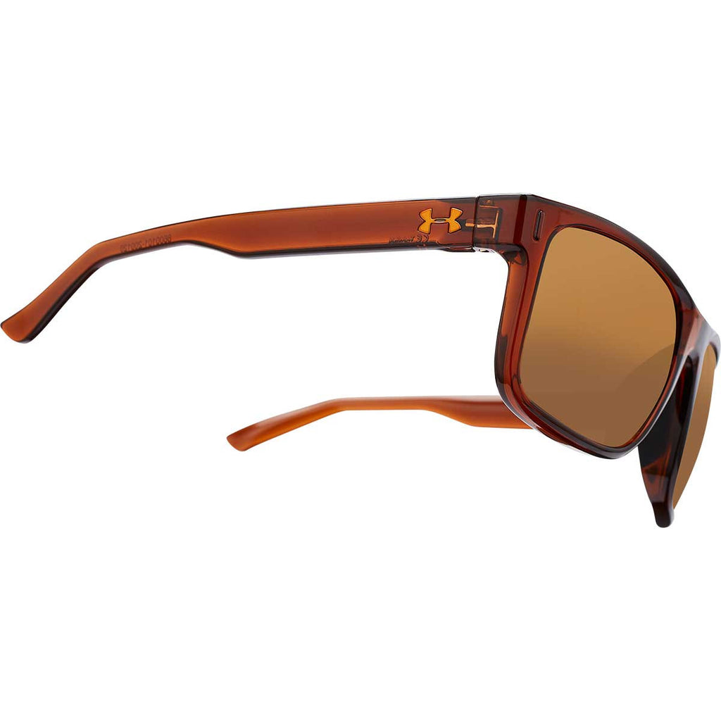 Under Armour Shiny Crystal Brown UA Assist With Brown Lens