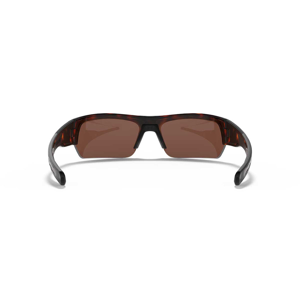 27f4cad425 Under Armour Shiny Crystal Tortoise UA Big Shot Storm Polarized With  Brown Green Mirror Lens