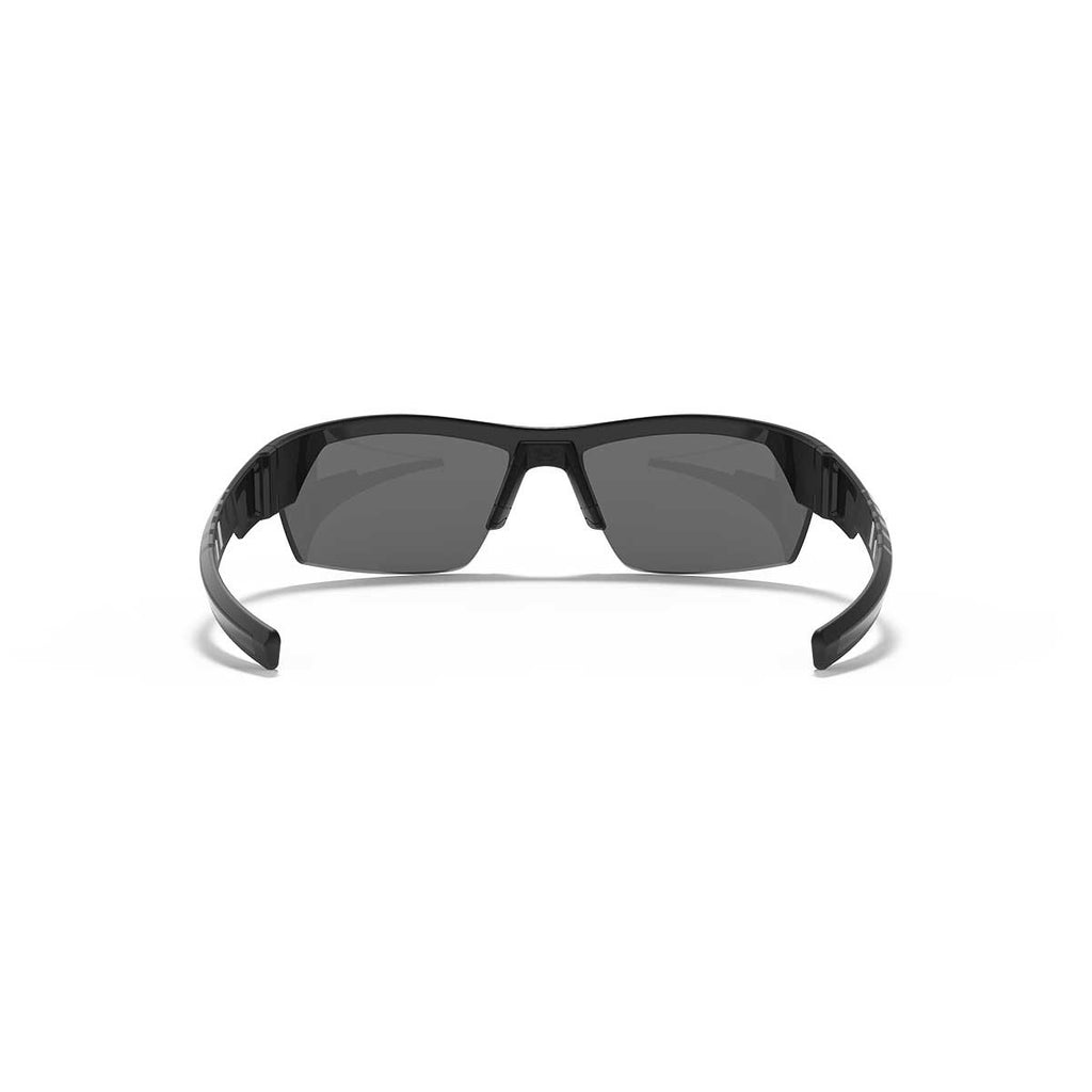 Under Armour Satin Black UA Igniter 2.0 Storm Polarized With Grey Lens