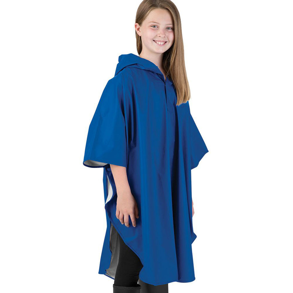 Charles River Youth Royal Pacific Poncho