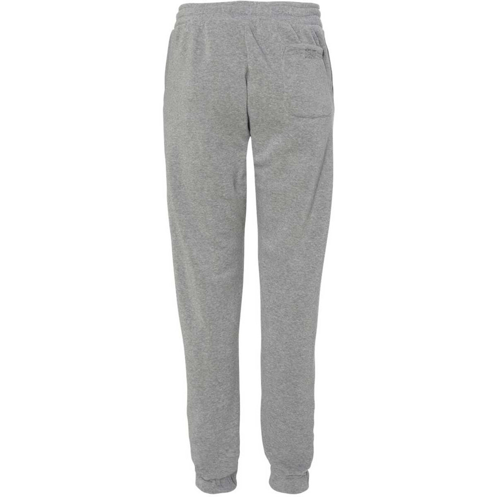 Burnside Men's Heather Grey Fleece Joggers