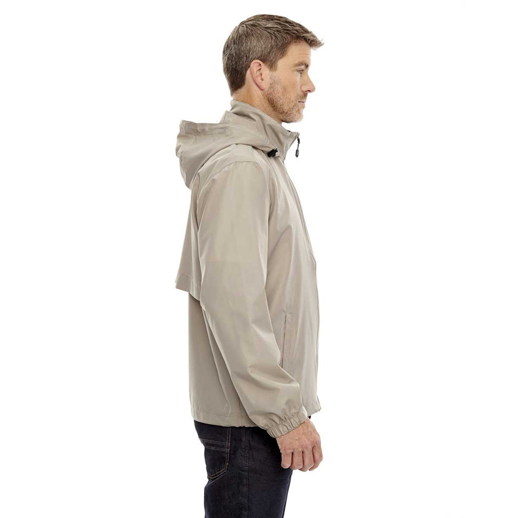North End Men's Putty Techno Lite Jacket