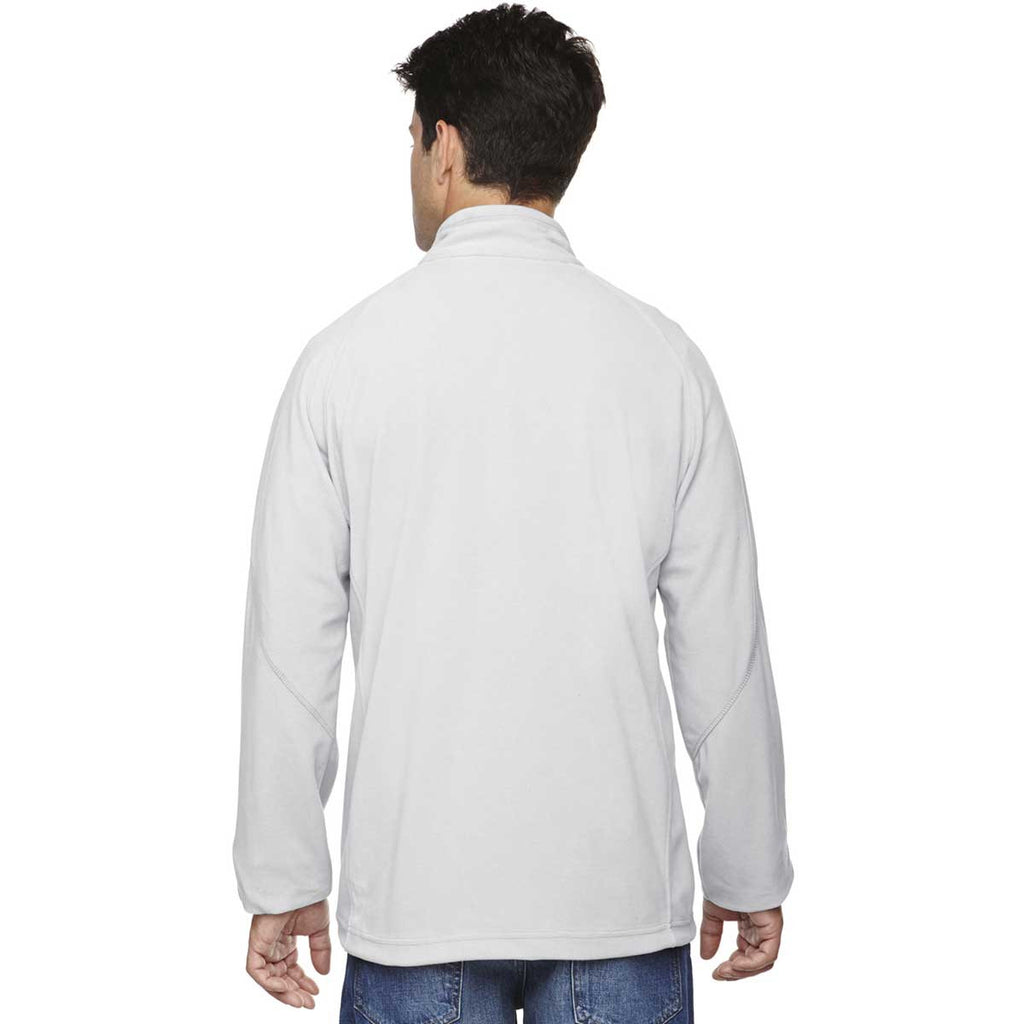 North End Men's Grey Frost Microfleece Unlined Jacket