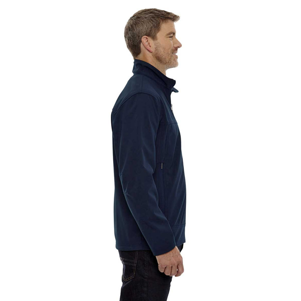 North End Men's Midnight Navy Three-Layer Bonded Performance Jacket