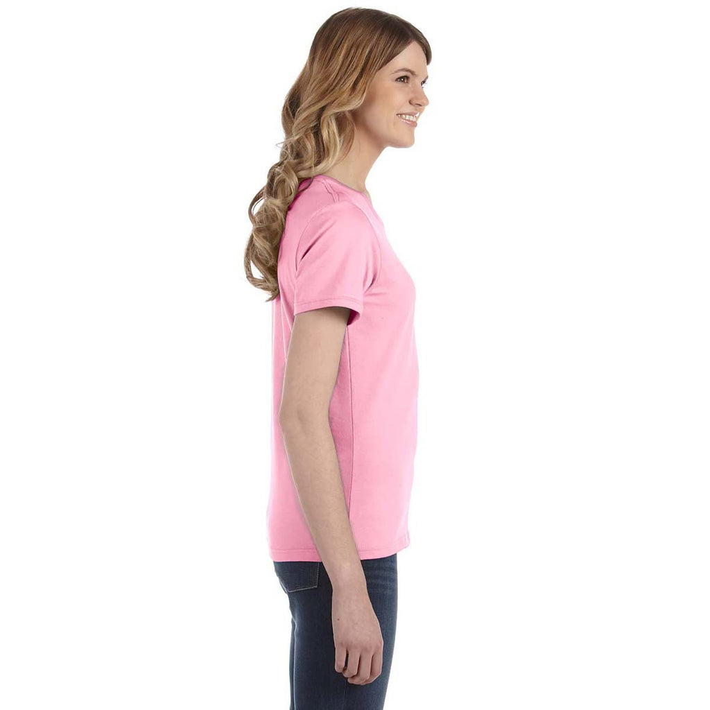 Anvil Women's Charity Pink Lightweight T-Shirt