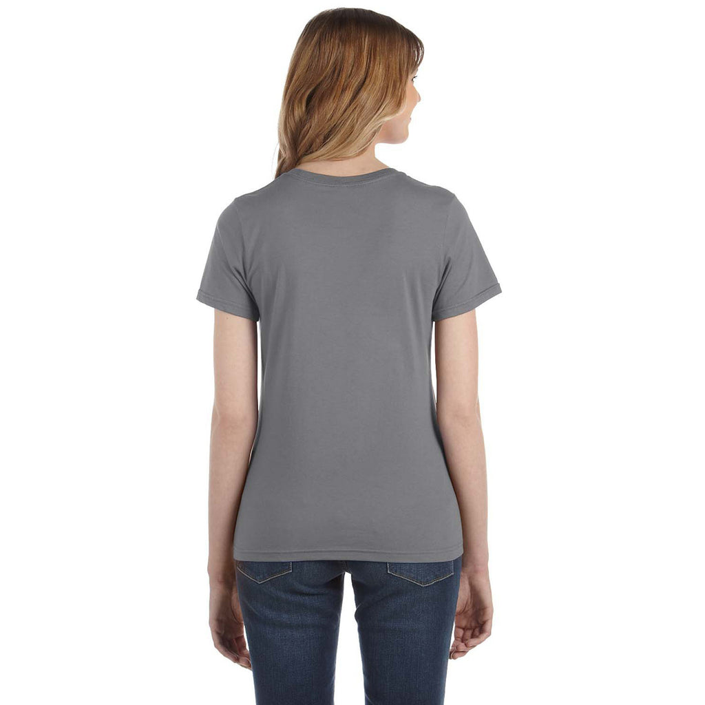 Anvil Women's Storm Grey Lightweight T-Shirt