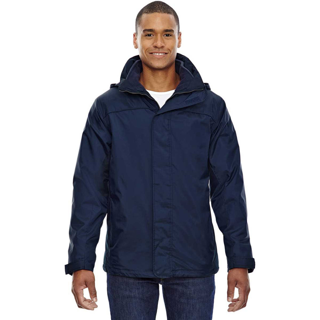 North End Men's Midnight Navy 3-in-1 Jacket
