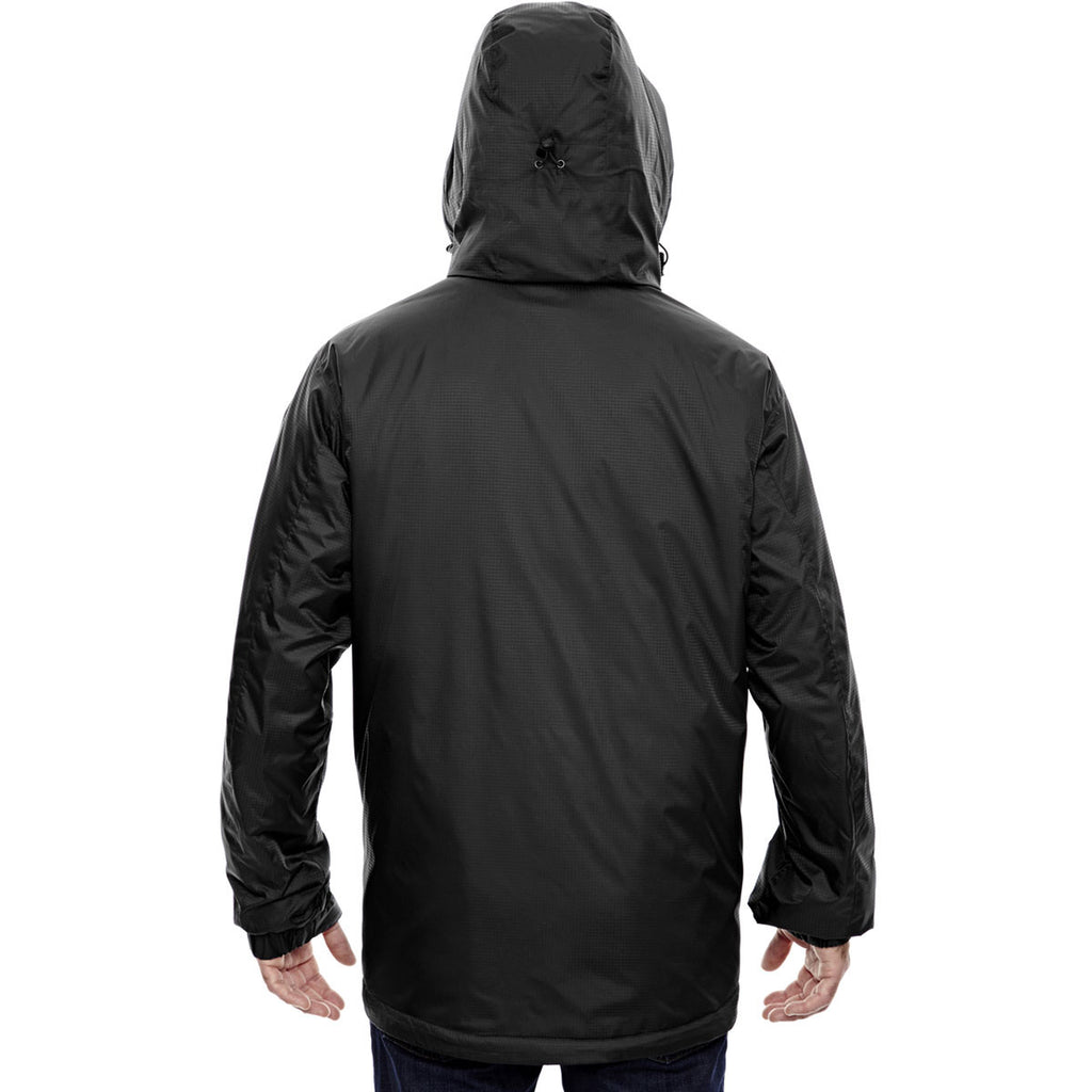 North End Men's Black Insulated Jacket