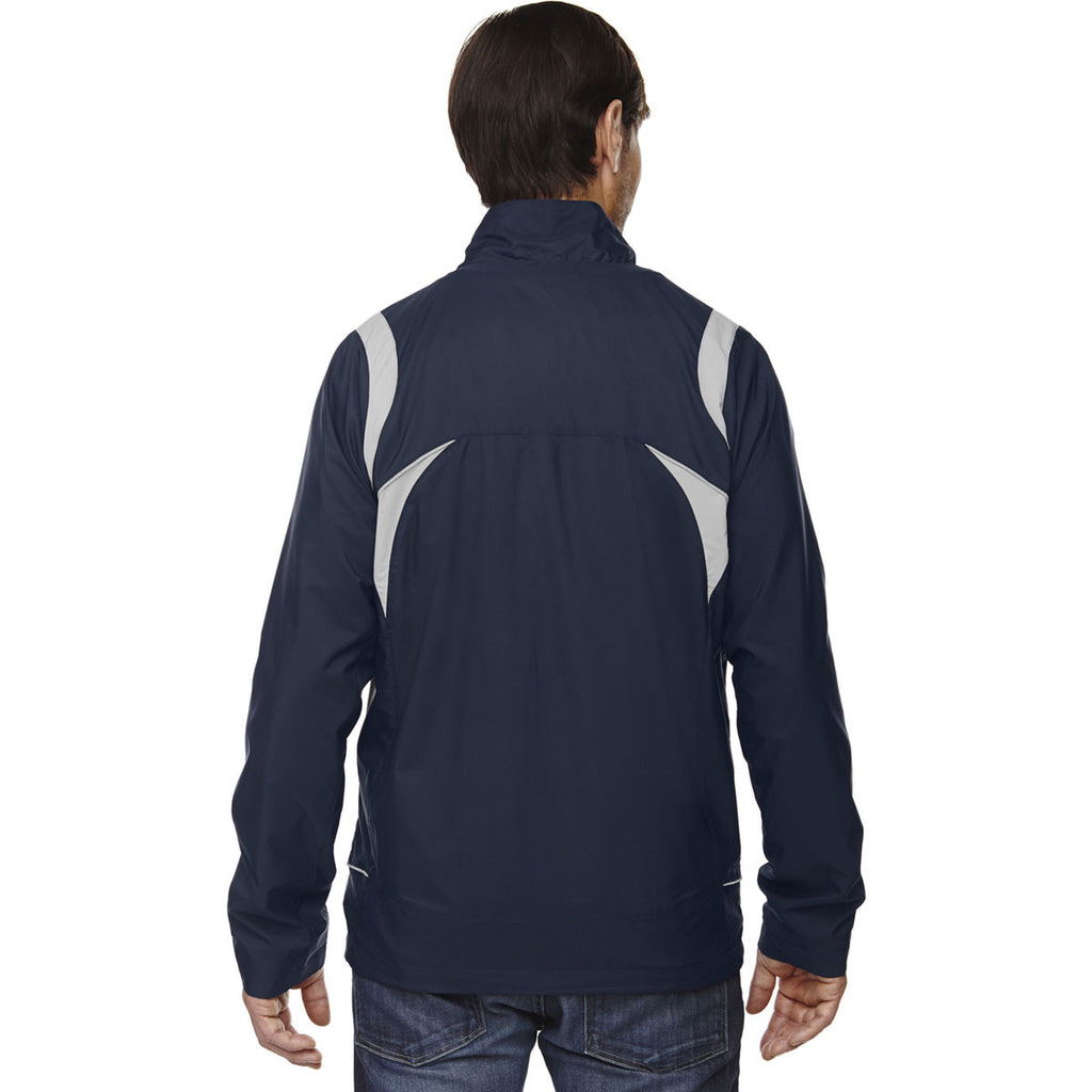 North End Men's Classic Navy Lightweight Mini Ottoman Jacket