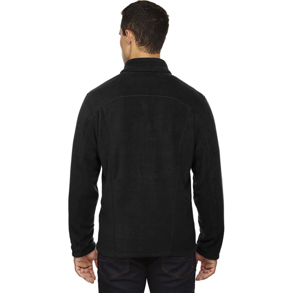 North End Men's Black Tall Voyage Fleece Jacket