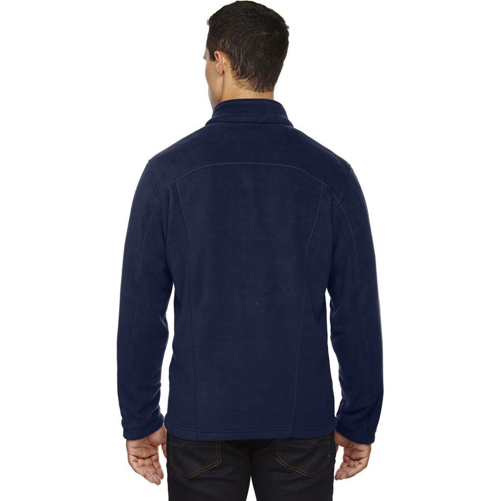 North End Men's Classic Navy Voyage Fleece Jacket