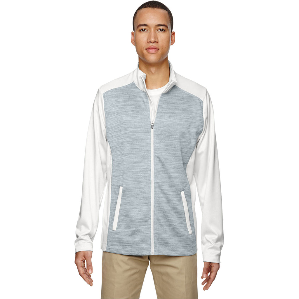 North End Men's Crystal Quartz Shuffle Performance Interlock Jacket