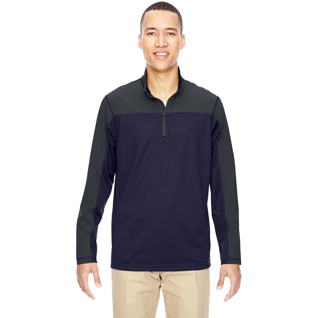 North End Men's Navy Excursion Circuit Performance Half-Zip