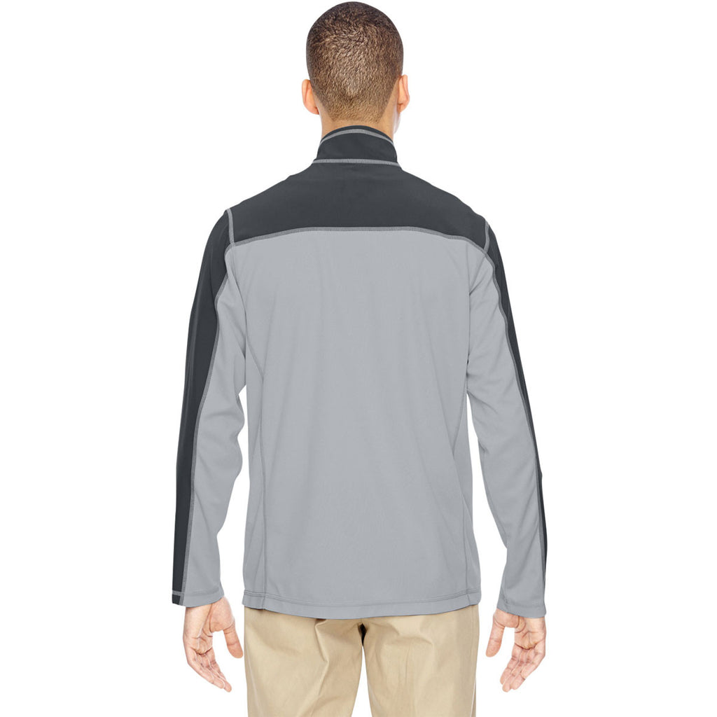 North End Men's Silver Excursion Circuit Performance Half-Zip