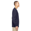North End Men's Navy Excursion Nomad Performance Waffle Henley