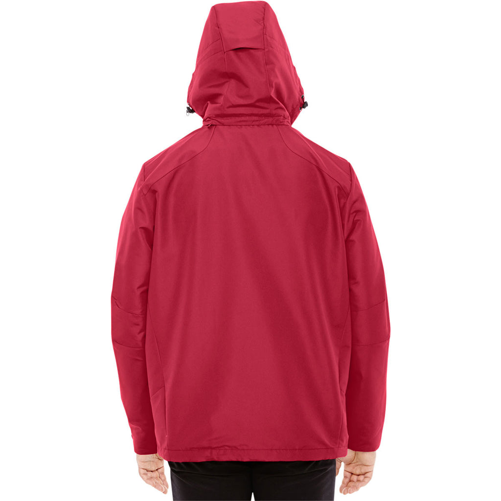 North End Men's Classic Red/Black Insight Interactive Shell Jacket