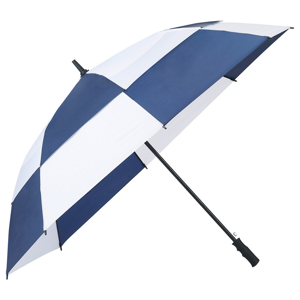 "Totes Navy 62"" Auto Open Vented Golf Umbrella"