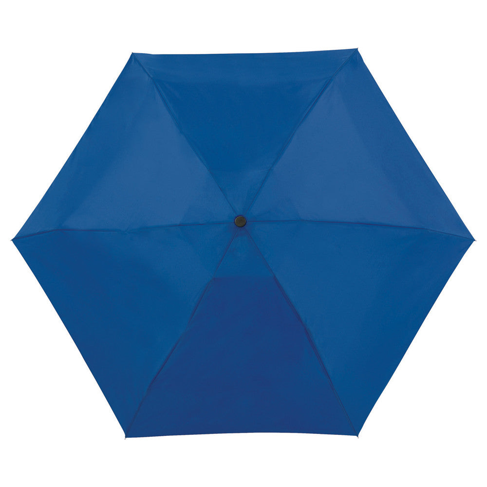 "Totes Blue 38"" 4 Section Auto Open/Close Umbrella"