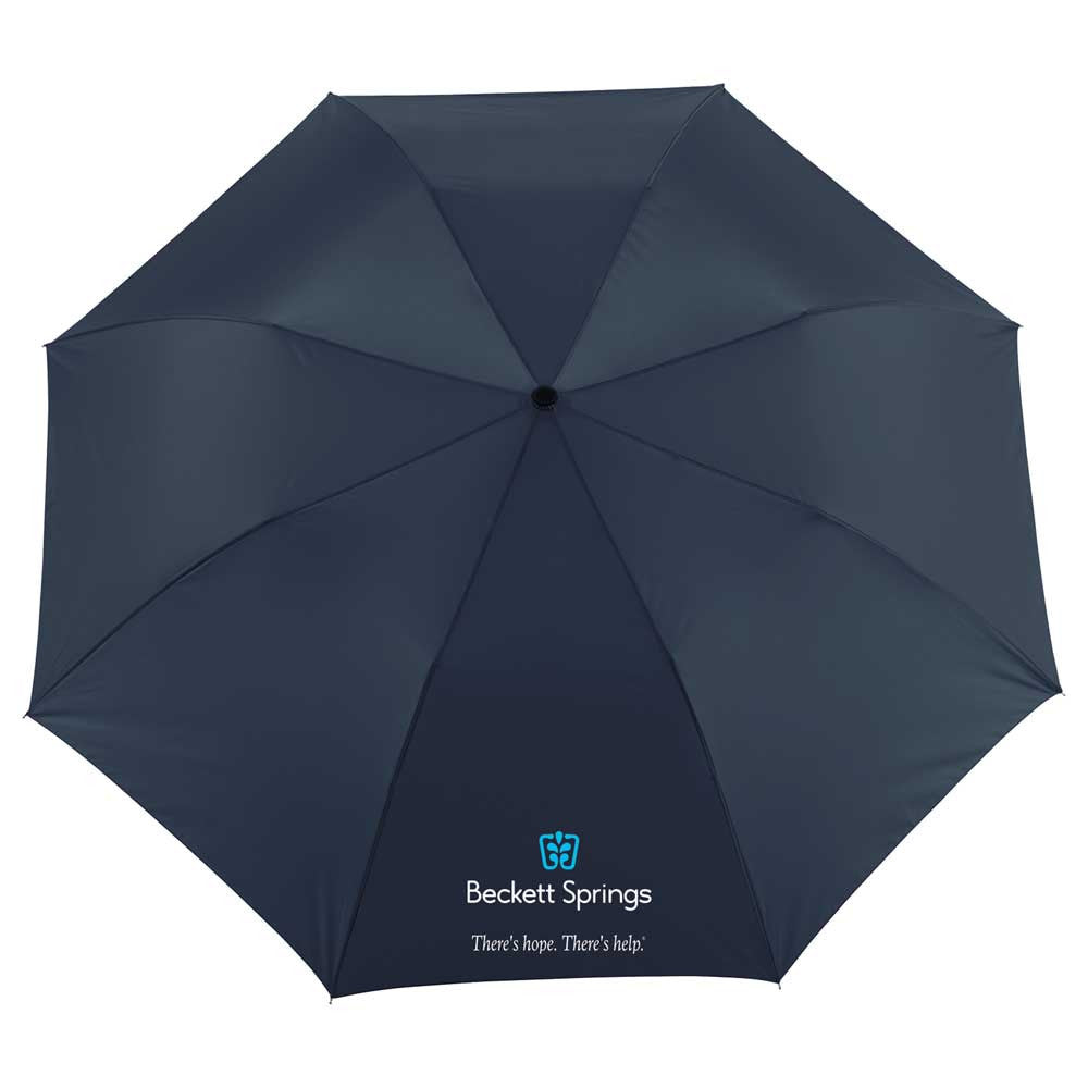"Totes Navy 55"" NEVERwet Auto Open Folding Golf Umbrella"