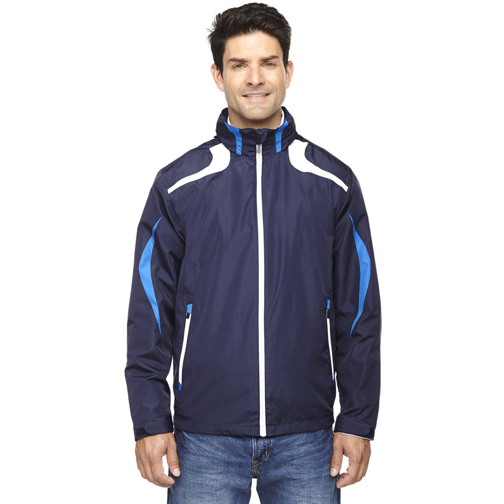 North End Men's Night Impact Active Lite Colorblock Jacket