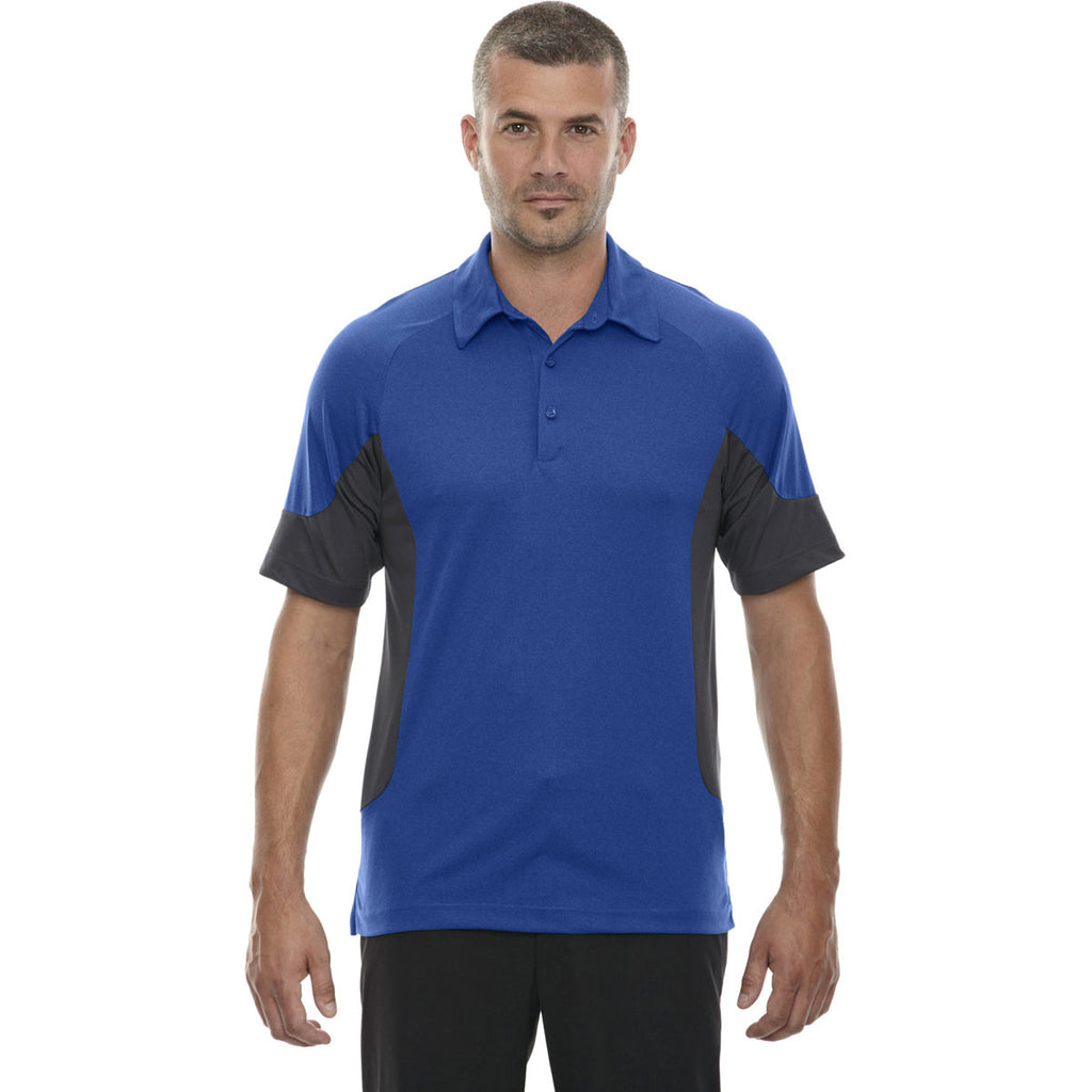 North End Men's Nautical Blue Jersey Polo
