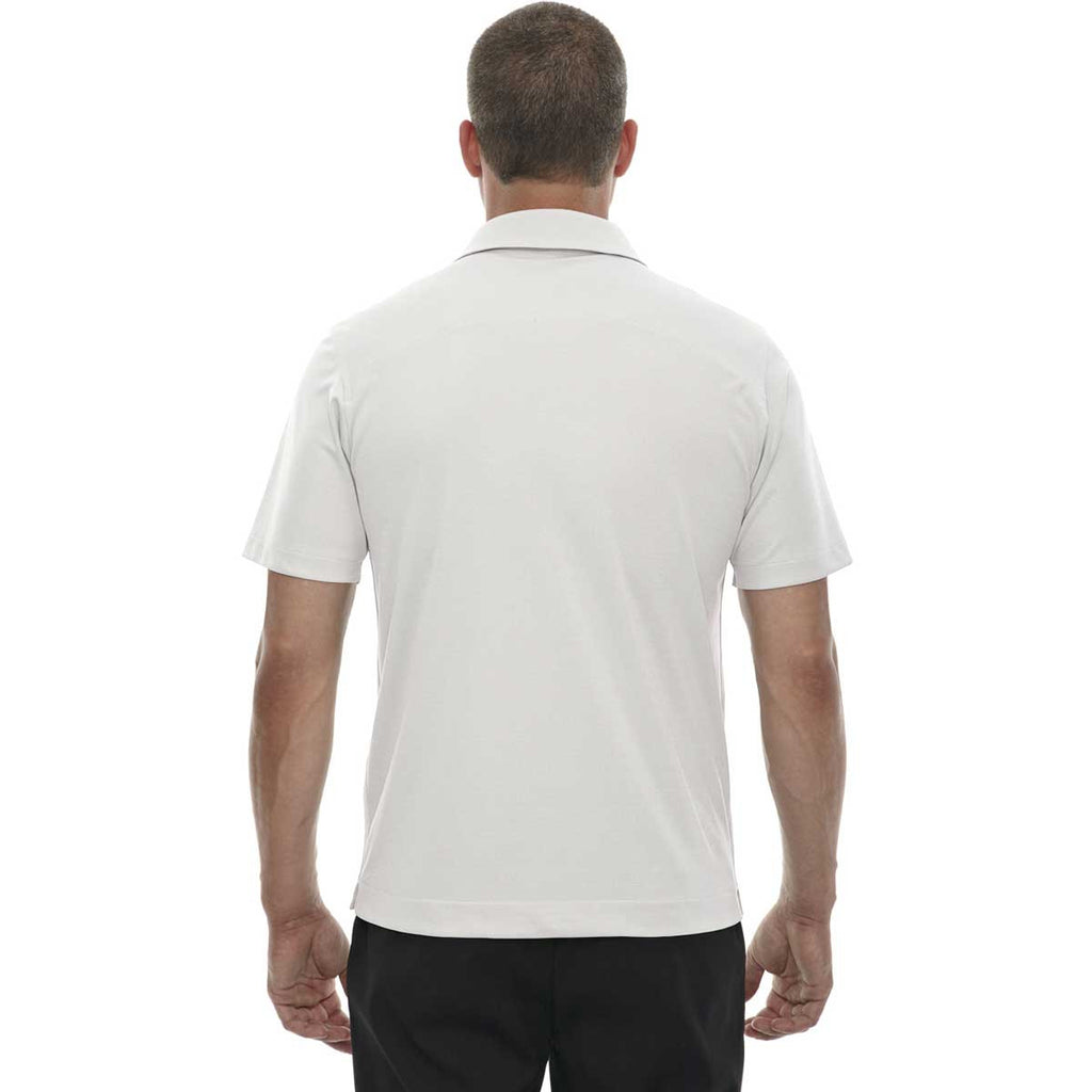 North End Men's Concrete Evap Quick Dry Performance Polo