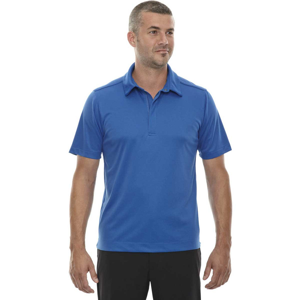 North End Men's Olympic Blue Evap Quick Dry Performance Polo