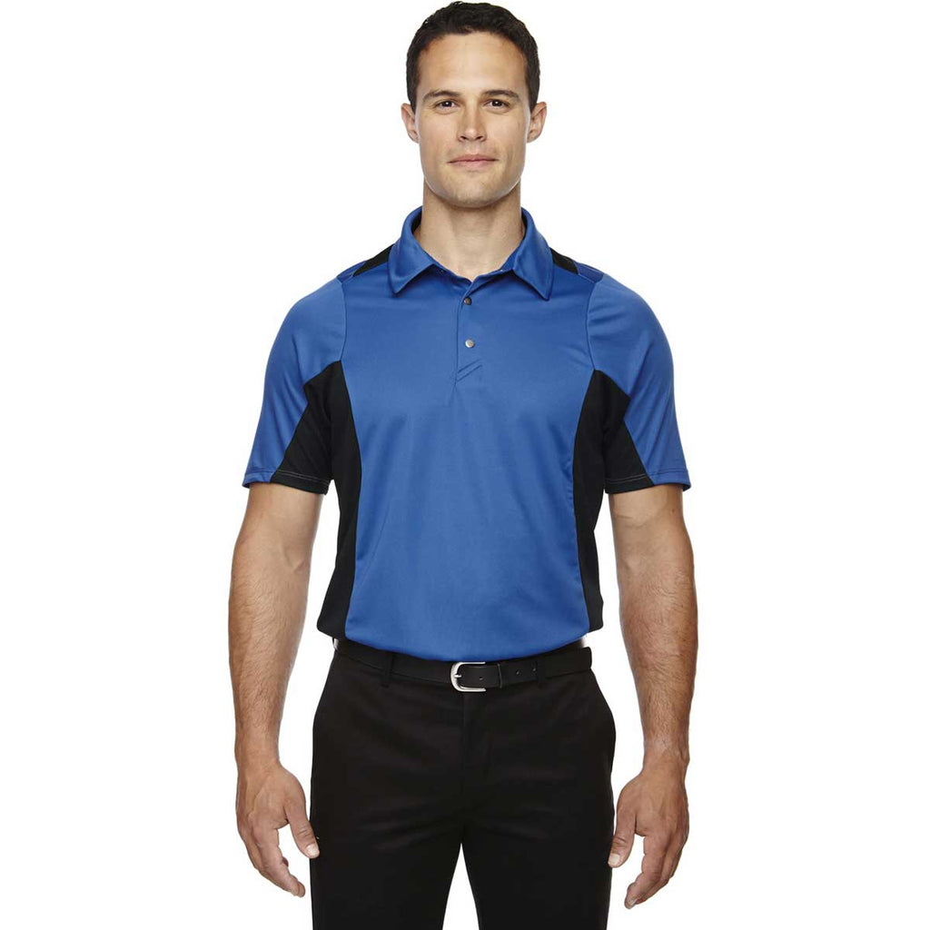 North End Men's Olympic Blue Rotate Quick Dry Performance Polo