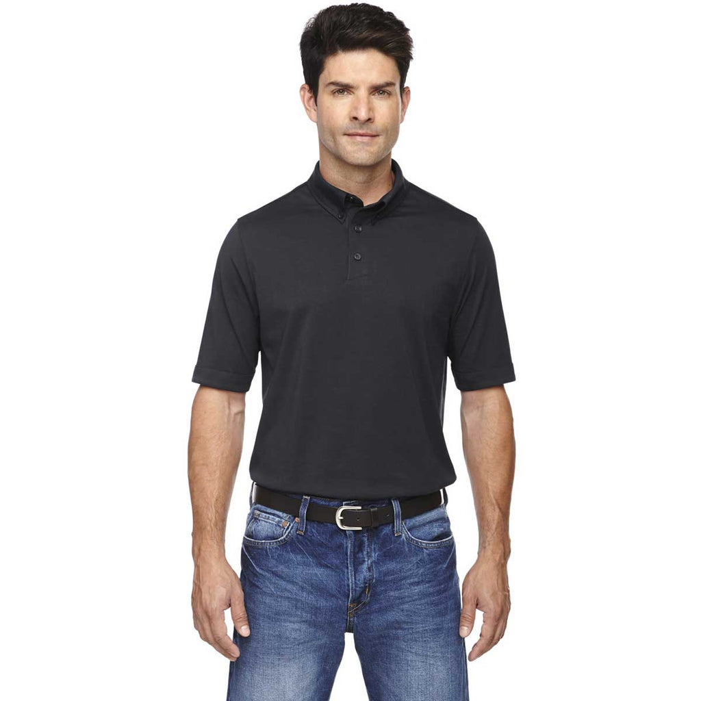 North End Men's Black Weekend Performance Polo