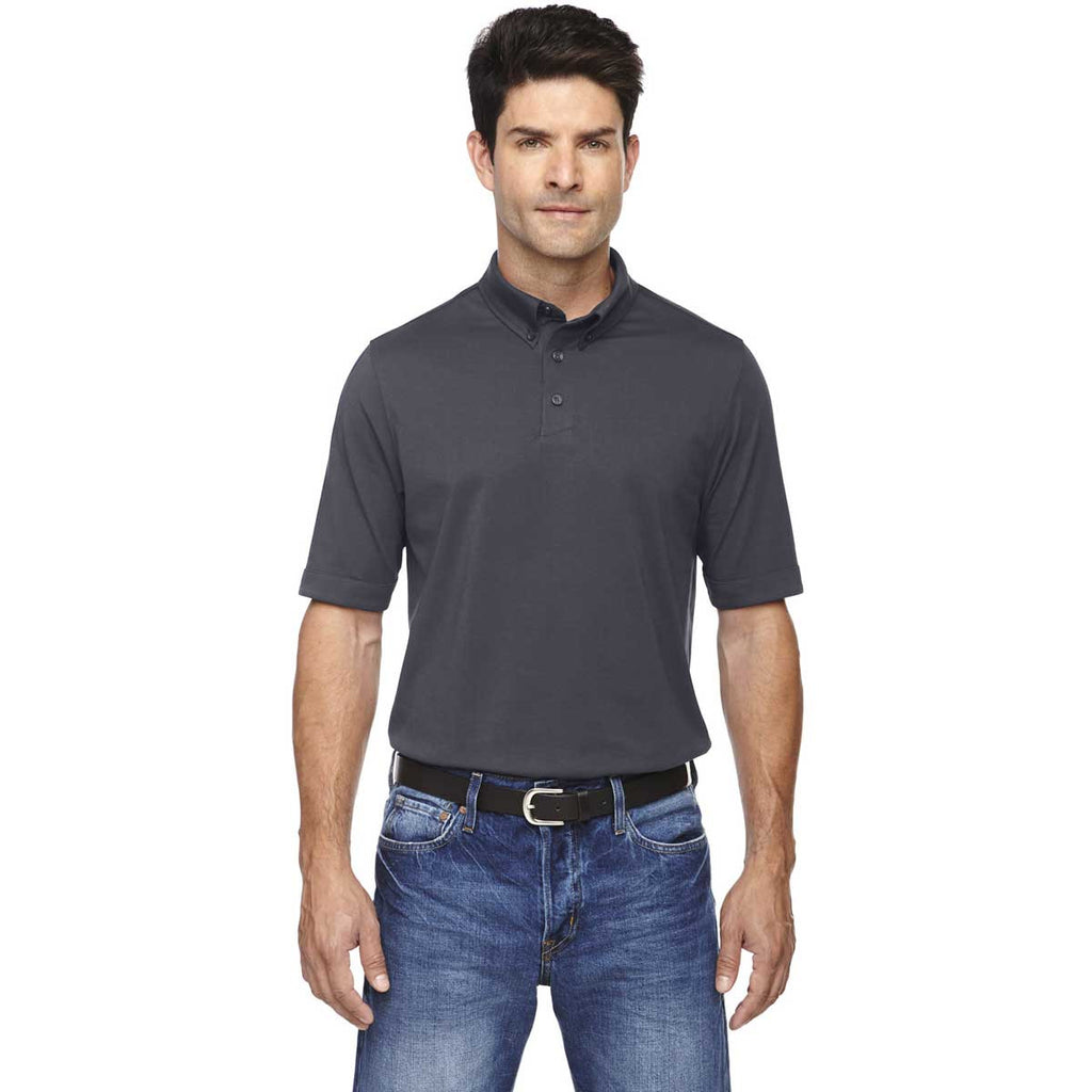 North End Men's Carbon Weekend Performance Polo