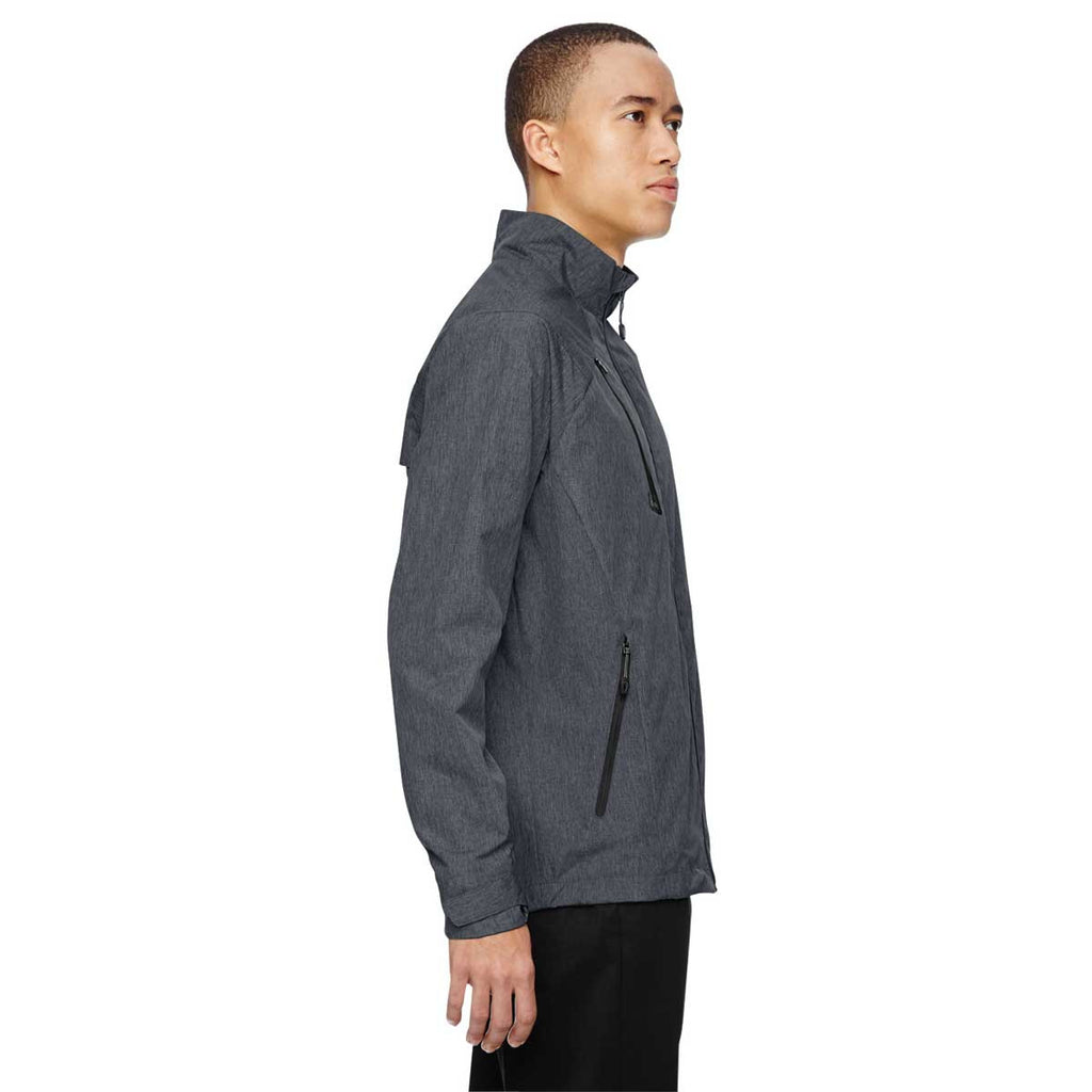 North End Men's Carbon Frequency Melange Jacket