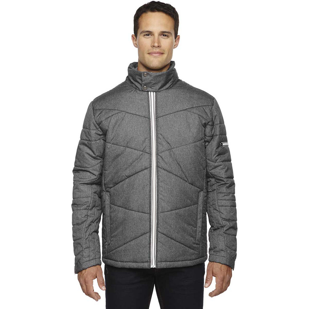 North End Men's Carbon Heather Jacket with Heat Reflect Technology