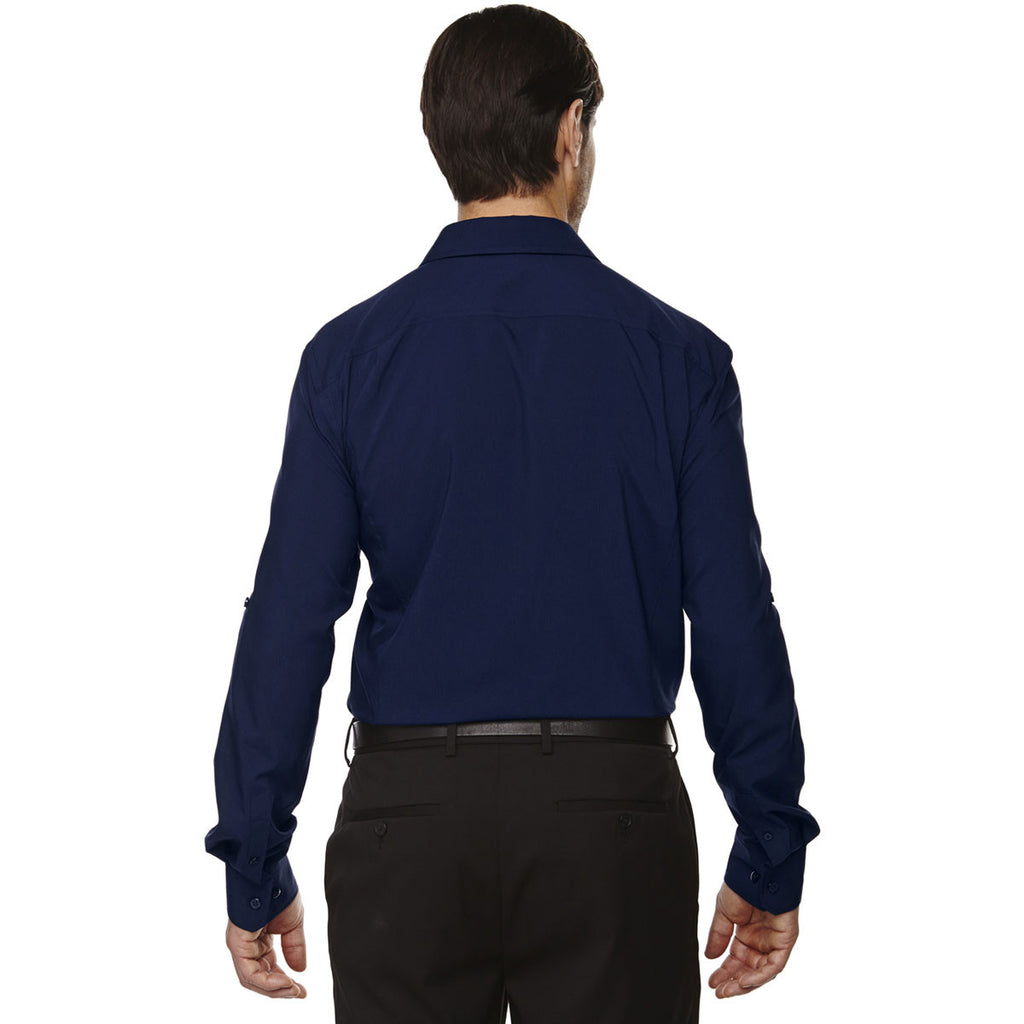 North End Men's Night Rejuvenate Performance Shirt with Roll-Up Sleeves