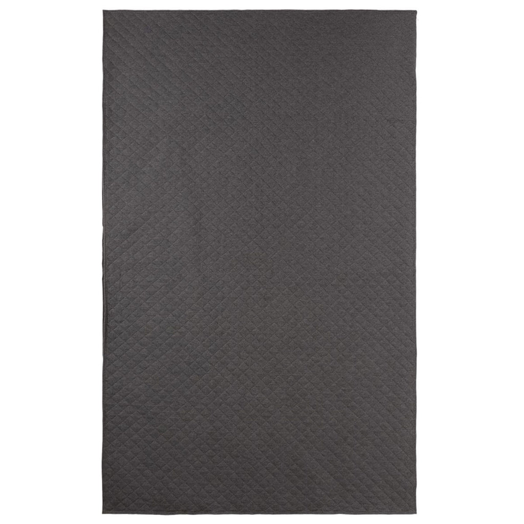 LB FLEECE BLANKET HEATHER GREY os
