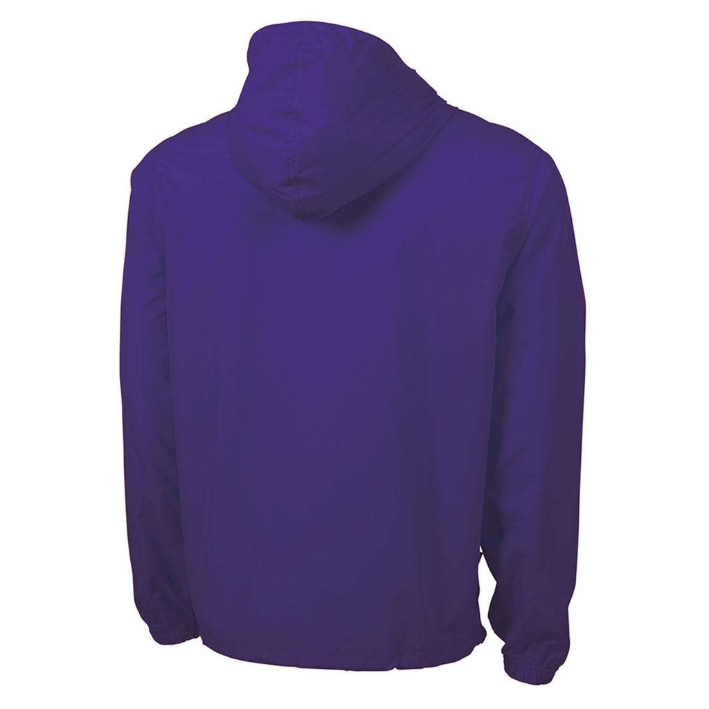 Charles River Youth Purple Pack-N-Go Pullover