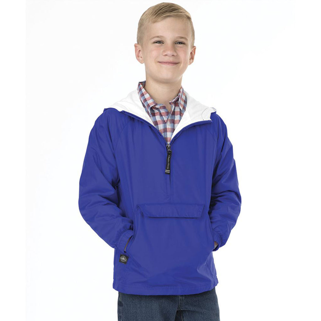 Charles River Youth Royal Classic Solid Pullover