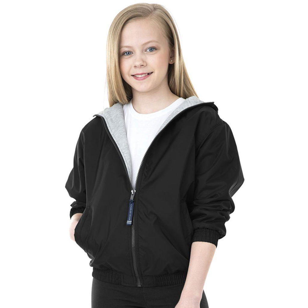 Charles River Youth Black Performer Jacket