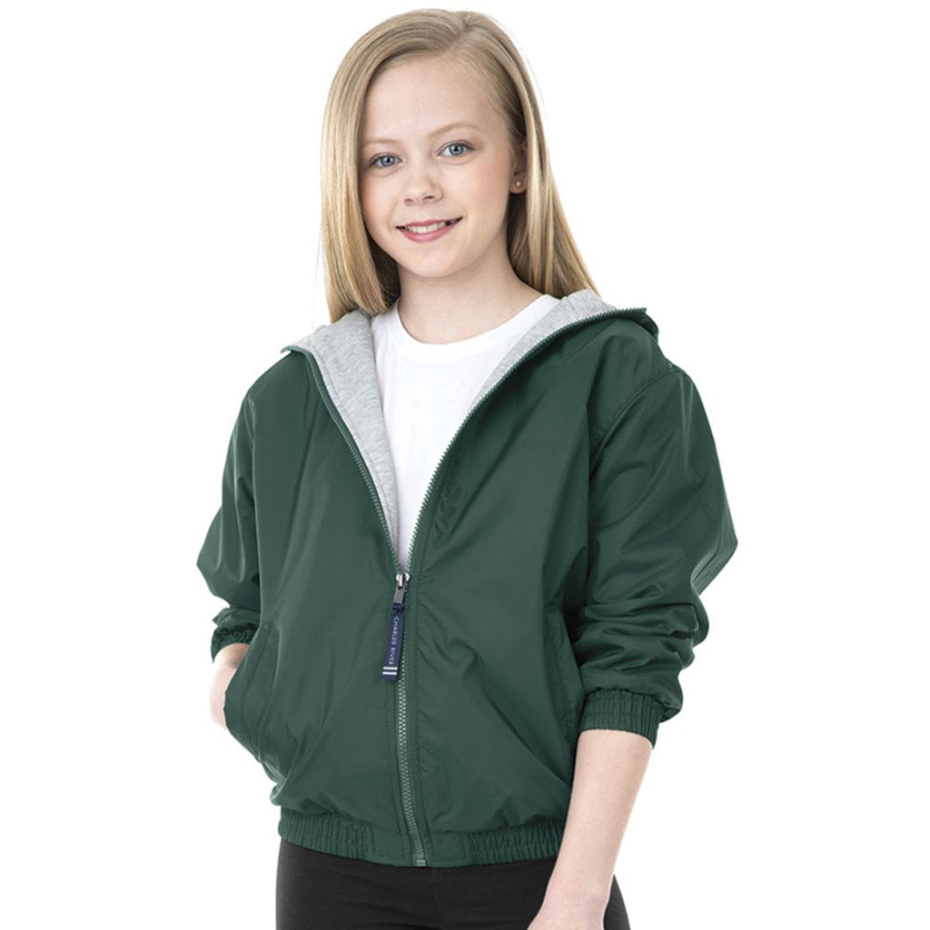 Charles River Youth Forest Performer Jacket