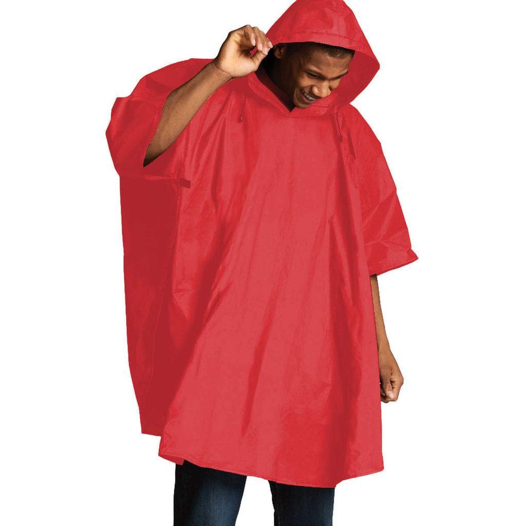 Charles River Men's Red Cyclone Eva Poncho