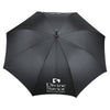 Balmain Black 55 Auto Open Runway Umbrella