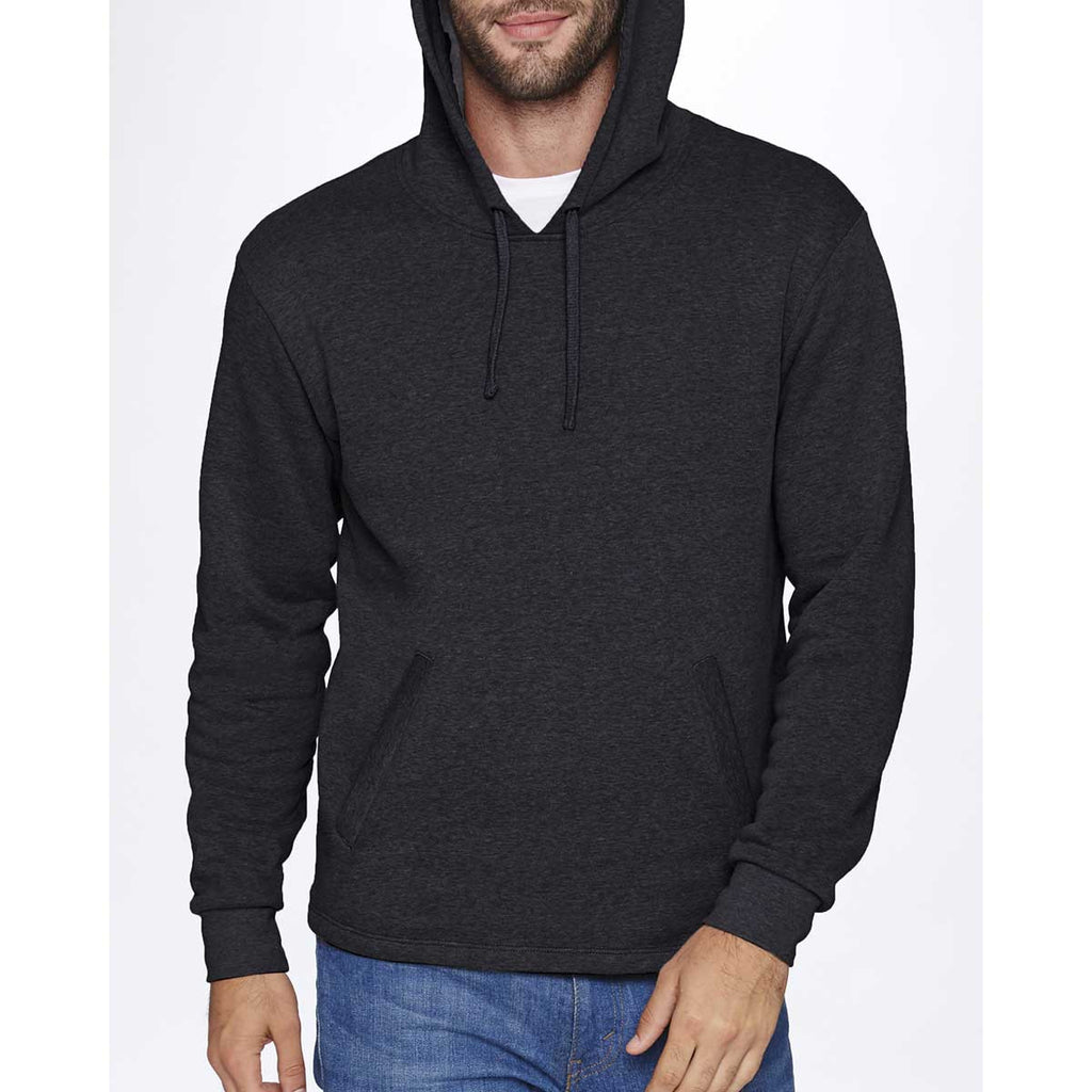 Next Level Unisex Heather Black PCH Pullover Hoodie